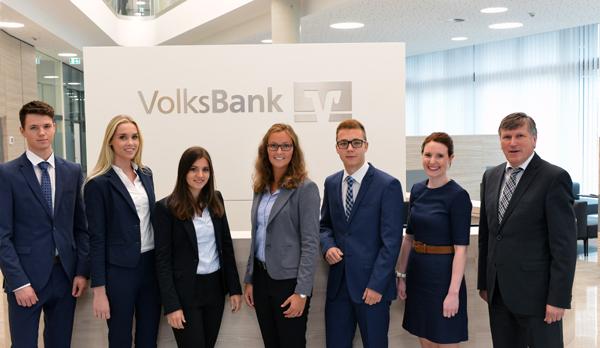 Ausbildungsstart bei der Volksbank Kleverland