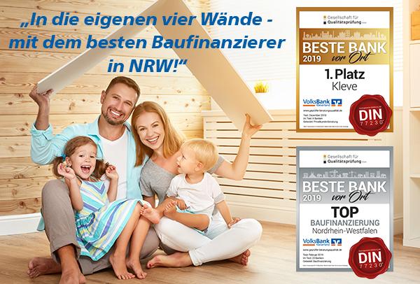 bester Baufinanzierer NRW