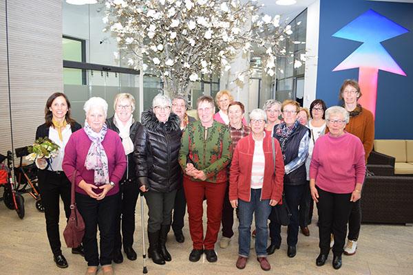 Gruppenfoto der Landfrauen Hasselt - Qualburg - Schneppenbaum
