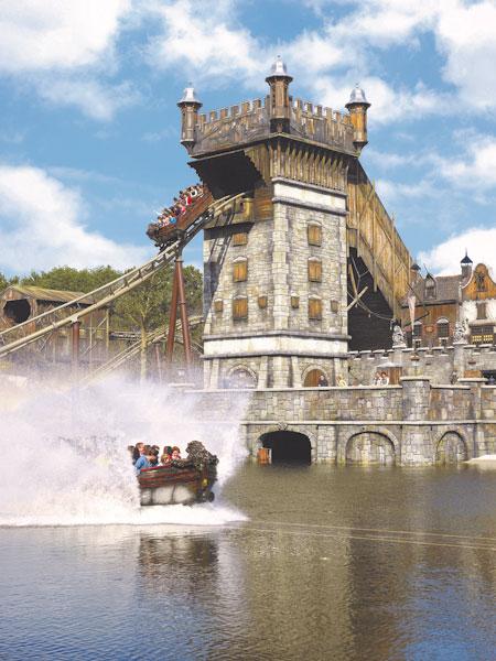 Wildwasserbahn - Efteling Freizeitpark