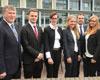 Neue Azubis der Volksbank Kleverland