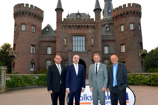 """Volksbank Kleverland lud zum """"Schlossgespräch"""" ein"""