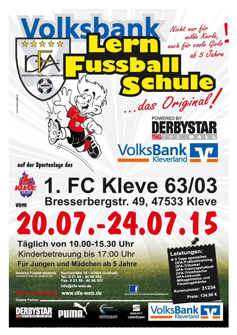 Volksbank-Lernfußballschule