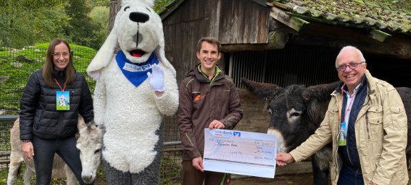 Abiturienten besuchen die Volksbank Kleverland