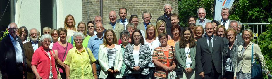Die Volksbank Kleverland unterstützt soziale und kirchliche Projekte in der Region