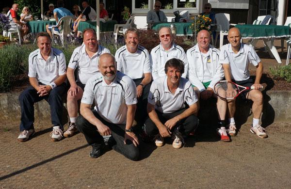 50-Mannschaft des TC Grün-Weiß Reichswalde