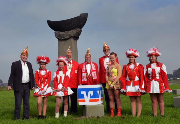 Gruppenfoto Tanzmariechen Räuber Grieth