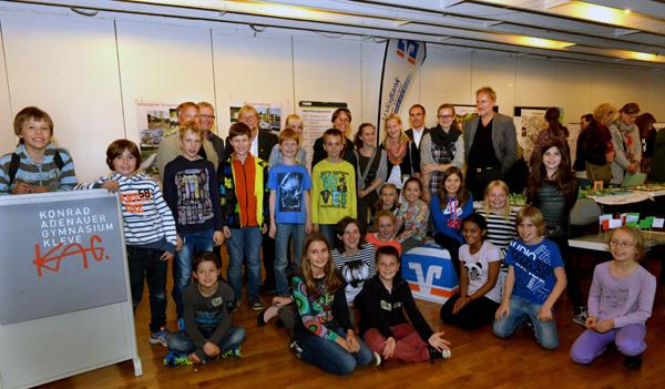 Gruppenfoto Kinderzukunftswerkstatt Konrad Adenauer Gymnasium