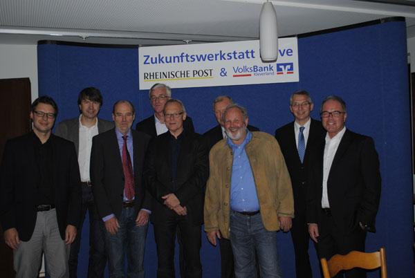Gruppenfoto Zukunftswerkstatt Kleve
