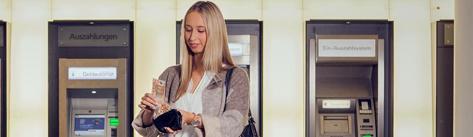Übersicht Geldautomaten Volksbank Kleverland